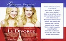 Divorce, Le - Advance poster (xs thumbnail)
