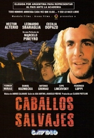 Caballos salvajes - Argentinian Movie Cover (xs thumbnail)