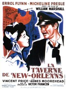 Adventures of Captain Fabian - French Movie Poster (xs thumbnail)