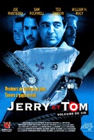 Jerry and Tom - French Movie Poster (xs thumbnail)