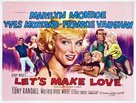 Let's Make Love - British Movie Poster (xs thumbnail)