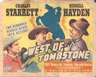 West of Tombstone - Movie Poster (xs thumbnail)