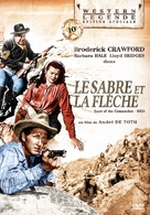Last of the Comanches - French Movie Cover (xs thumbnail)