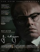 J. Edgar - For your consideration movie poster (xs thumbnail)