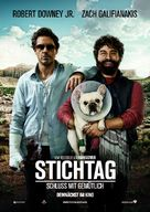 Due Date - German Movie Poster (xs thumbnail)
