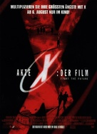 The X Files - German Movie Poster (xs thumbnail)