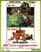 Thunderball - Brazilian Movie Poster (xs thumbnail)
