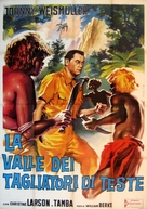 Valley of Head Hunters - Italian Movie Poster (xs thumbnail)