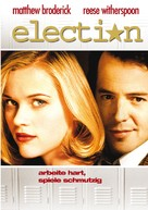 Election - German DVD movie cover (xs thumbnail)