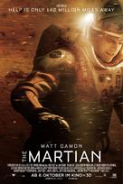 The Martian - Swiss Movie Poster (xs thumbnail)