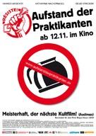Résiste - Aufstand der Praktikanten - German Movie Poster (xs thumbnail)