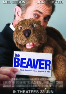 The Beaver - Singaporean Movie Poster (xs thumbnail)