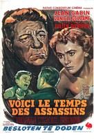 Voici le temps des assassins... - Belgian Movie Poster (xs thumbnail)