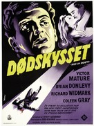 Kiss of Death - Danish Movie Poster (xs thumbnail)