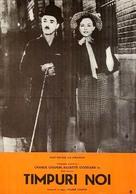 Modern Times - Romanian Movie Poster (xs thumbnail)