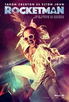 Rocketman - Colombian Movie Poster (xs thumbnail)