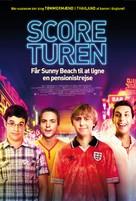 The Inbetweeners Movie - Danish Movie Poster (xs thumbnail)
