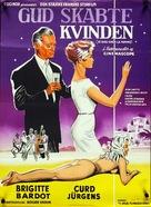 Et Dieu... créa la femme - Danish Movie Poster (xs thumbnail)