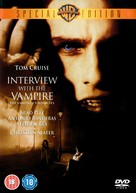 Interview With The Vampire - British DVD movie cover (xs thumbnail)