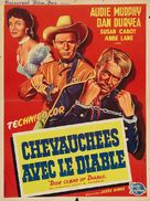 Ride Clear of Diablo - French Movie Poster (xs thumbnail)