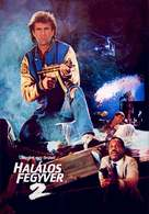 Lethal Weapon 2 - Hungarian Movie Cover (xs thumbnail)