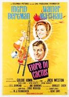 Cactus Flower - Italian Movie Poster (xs thumbnail)