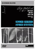 Number Seventeen - German DVD cover (xs thumbnail)