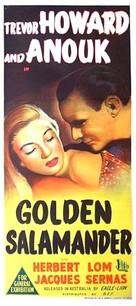 Golden Salamander - Australian Movie Poster (xs thumbnail)