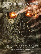 Terminator Salvation - Italian Movie Poster (xs thumbnail)