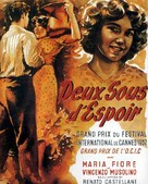 Due soldi di speranza - French Movie Poster (xs thumbnail)