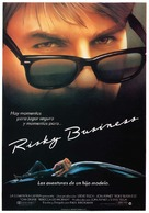 Risky Business - Spanish Movie Poster (xs thumbnail)