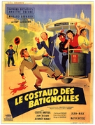 Le costaud des Batignolles - French Movie Poster (xs thumbnail)
