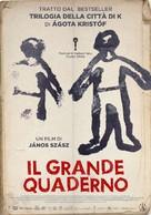 A nagy Füzet - Italian Movie Poster (xs thumbnail)