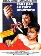Unfaithfully Yours - French Movie Poster (xs thumbnail)