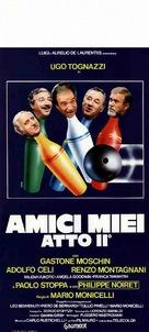 Amici miei atto II - Italian Theatrical poster (xs thumbnail)