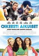Grown Ups - Finnish Movie Poster (xs thumbnail)