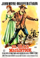 McLintock! - Spanish Movie Poster (xs thumbnail)