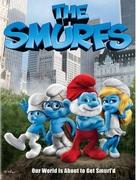 The Smurfs - DVD cover (xs thumbnail)