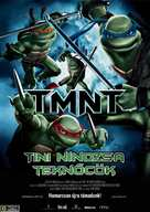 TMNT - Hungarian Movie Poster (xs thumbnail)