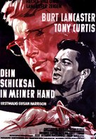 Sweet Smell of Success - German Movie Poster (xs thumbnail)