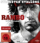 Rambo: First Blood Part II - German Blu-Ray movie cover (xs thumbnail)