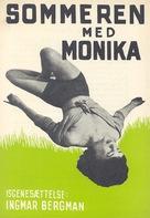 Sommaren med Monika - Danish Movie Poster (xs thumbnail)