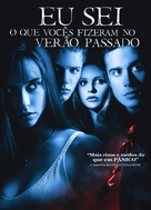 I Know What You Did Last Summer - Brazilian Movie Cover (xs thumbnail)