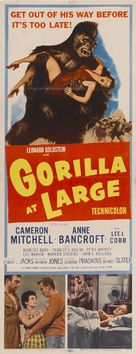 Gorilla at Large - Movie Poster (xs thumbnail)