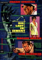 Lady in Cement - German Movie Poster (xs thumbnail)