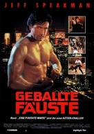 Street Knight - German Movie Poster (xs thumbnail)