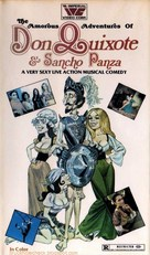 The Amorous Adventures of Don Quixote and Sancho Panza - VHS cover (xs thumbnail)