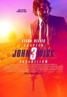 John Wick: Chapter 3 - Parabellum - Turkish Movie Poster (xs thumbnail)