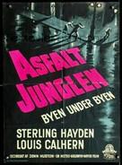 The Asphalt Jungle - Danish Movie Poster (xs thumbnail)
