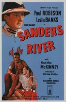 Sanders of the River - British Movie Poster (xs thumbnail)
